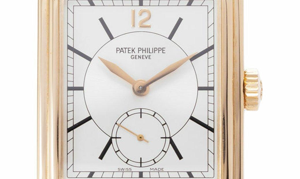 Patek Philippe Gondolo 5010R-001, Baton, 2002, Very Good, Case material Rose Gold, Brac