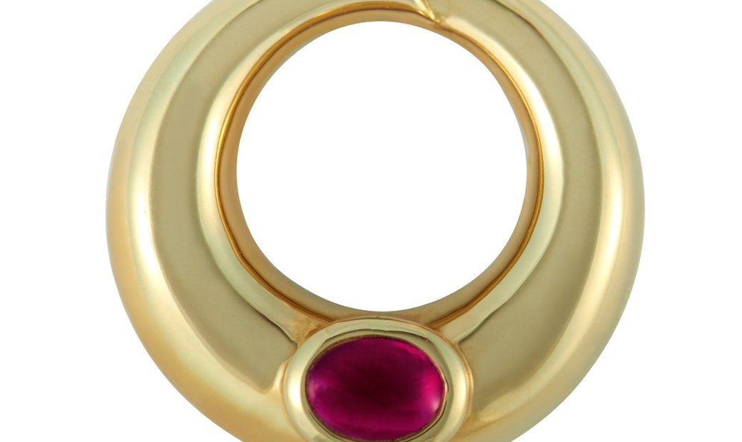 Chaumet Chaumet 18K Yellow Gold Ruby Necklace