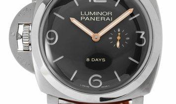 Panerai Luminor 1950 PAM00368, Arabic Numerals, 2012, Good, Case material Titanium, Bra