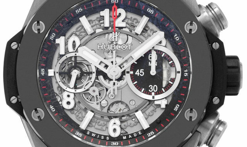 Hublot Big Bang Unico Chronograph 411.NM.1170.RX, Arabic Numerals, 2015, Very Good, Cas