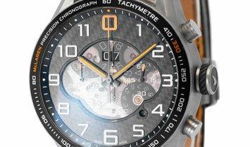 TAG Heuer Carrera CAR2080.FC6286, Arabic Numerals, 2015, Good, Case material Titanium,