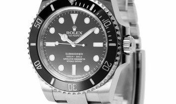 Rolex Submariner 114060, Baton, 2017, Very Good, Case material Steel, Bracelet material