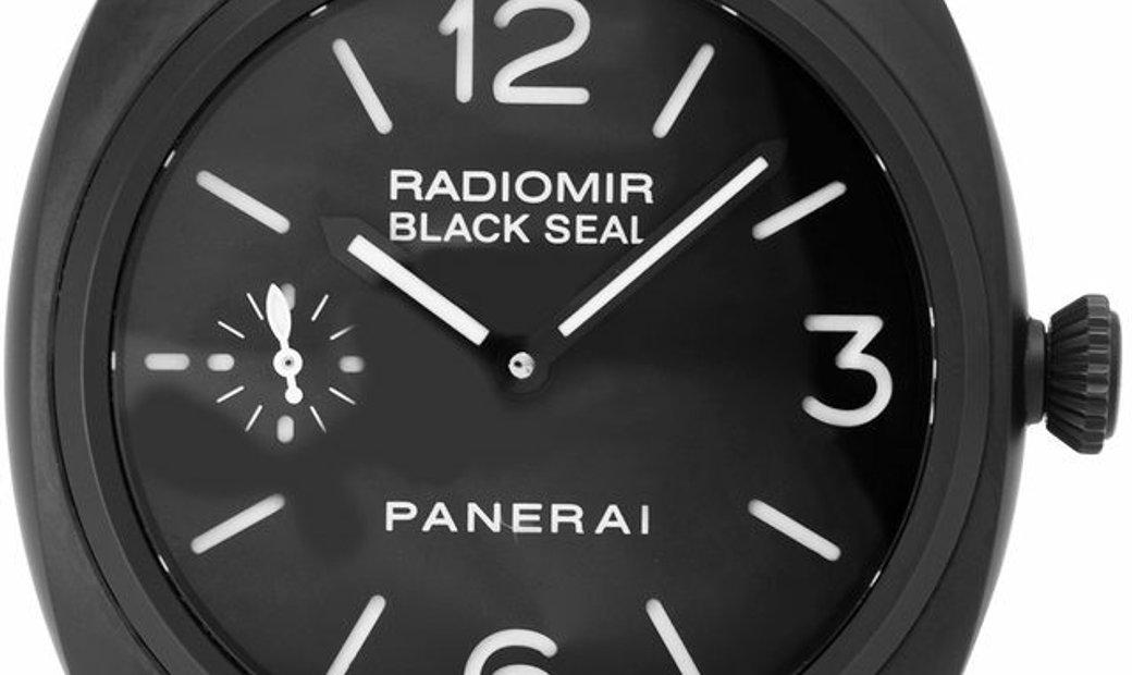 Panerai Radiomir Manual PAM00292, Arabic Numerals, 2013, Good, Case material Ceramic, B