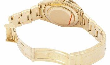 Rolex Submariner 16618, Baton, 1989, Good, Case material Yellow Gold, Bracelet material