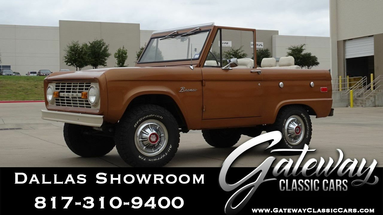 1973 Ford Bronco In Dfw Airport Texas United States For Sale 11128706
