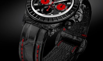"Rolex DiW NTPT Carbon Daytona ""RAINBOW BLACK"" (Retail:US$77,990)"