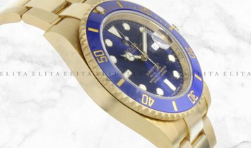 Rolex Submariner Date 126618LB-0002 Yellow Gold Royal Blue Dial