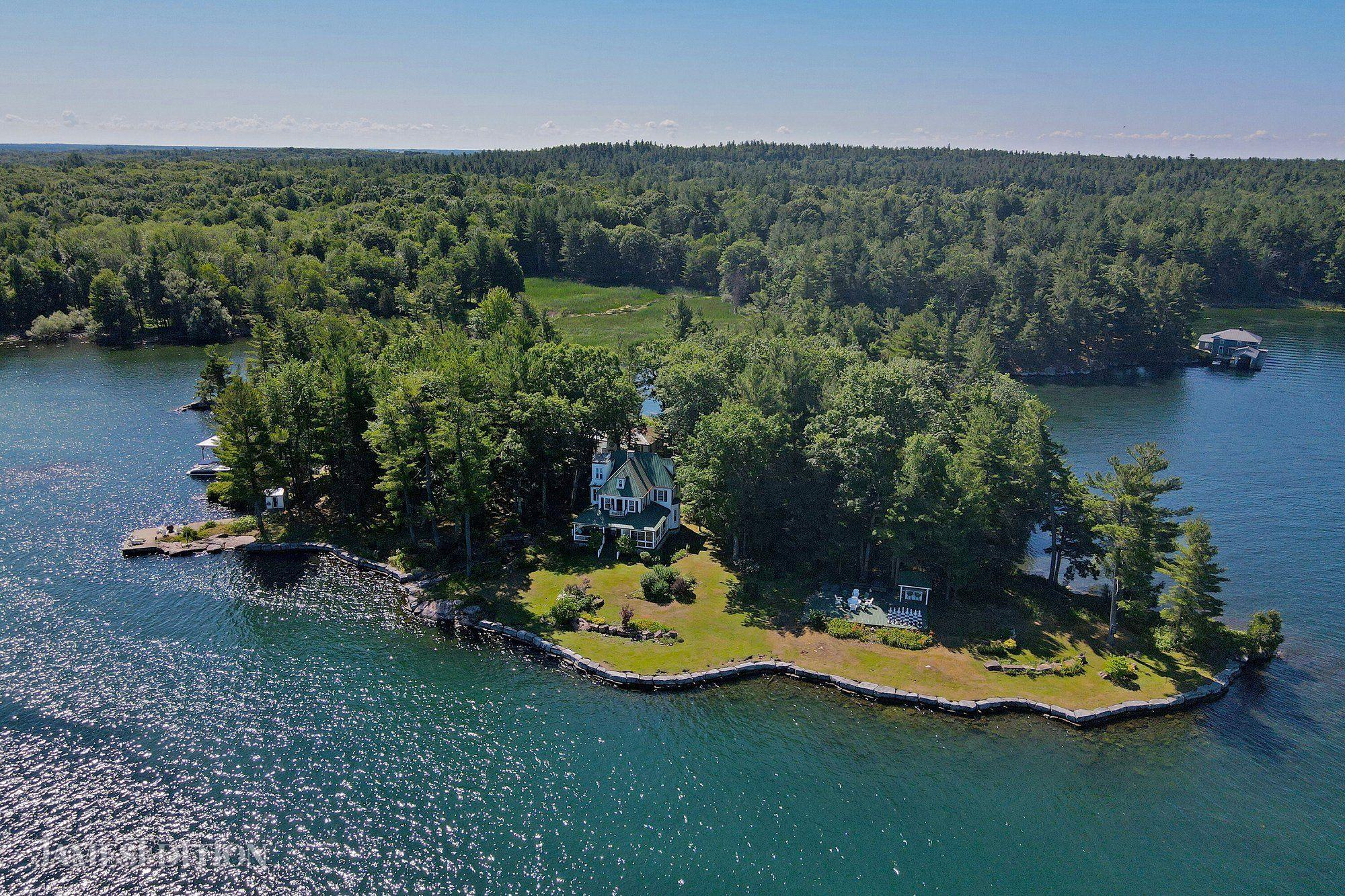 Private Island in Ontario, Canada 1