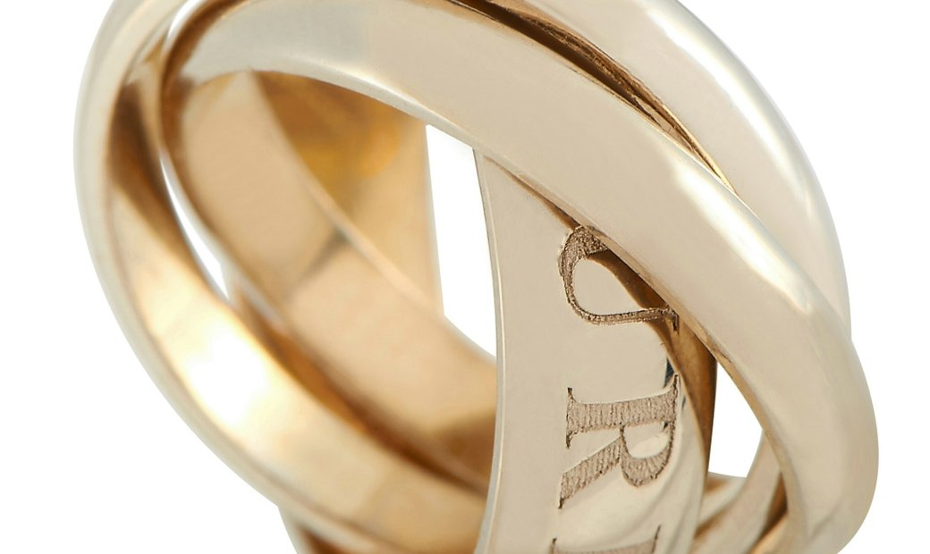 Cartier Cartier Trinity 18K Yellow Gold Ring