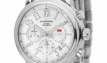 Chopard Mille Miglia 8511, Arabic Numerals, 2010, Very Good, Case material Steel, Brace