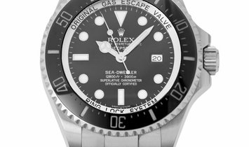 Rolex Deepsea 116660, Baton, 2011, Very Good, Case material Steel, Bracelet material: S