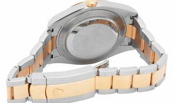 Rolex Datejust II 116333, Arabic Numerals, 2012, Very Good, Case material Steel, Bracel