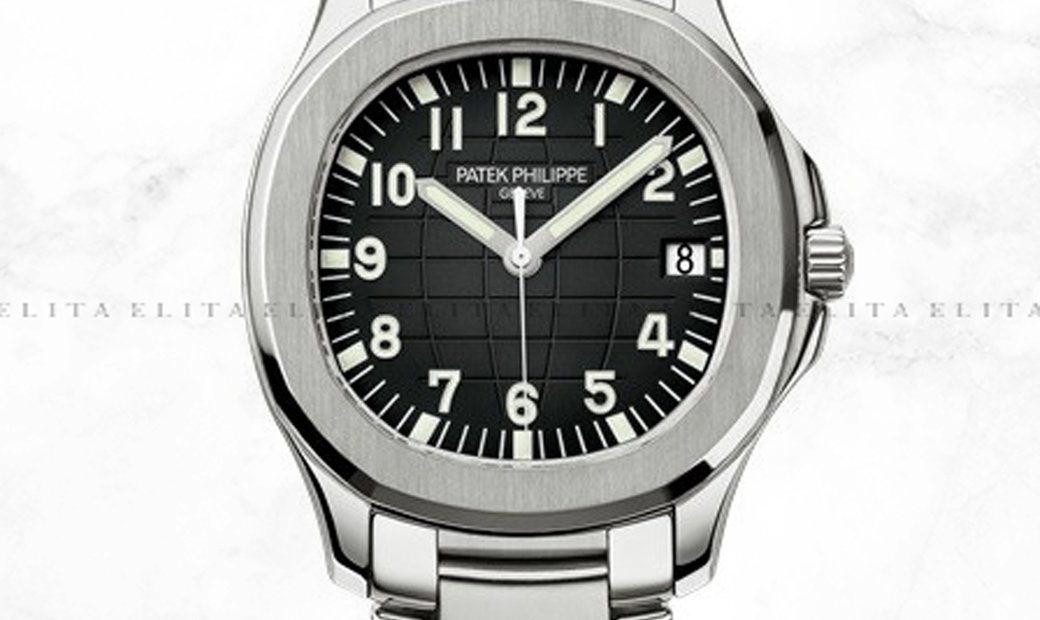 Patek Philippe Aquanaut 5167/1A-001 Stainless Steel Black Dial Stainless Steel Bracelet