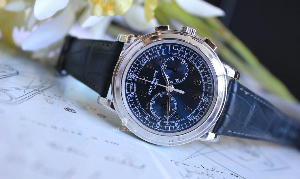 Patek Philippe Complication Chronograph Blue 5271/11P-001