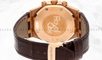 Audemars Piguet Royal Oak 26331OR.OO.D821CR.01 Rose Gold Chocolate and Rose Gold Dial