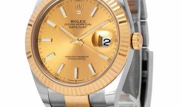 Rolex Datejust 126333, Baton, 2020, Very Good, Case material Steel, Bracelet material: