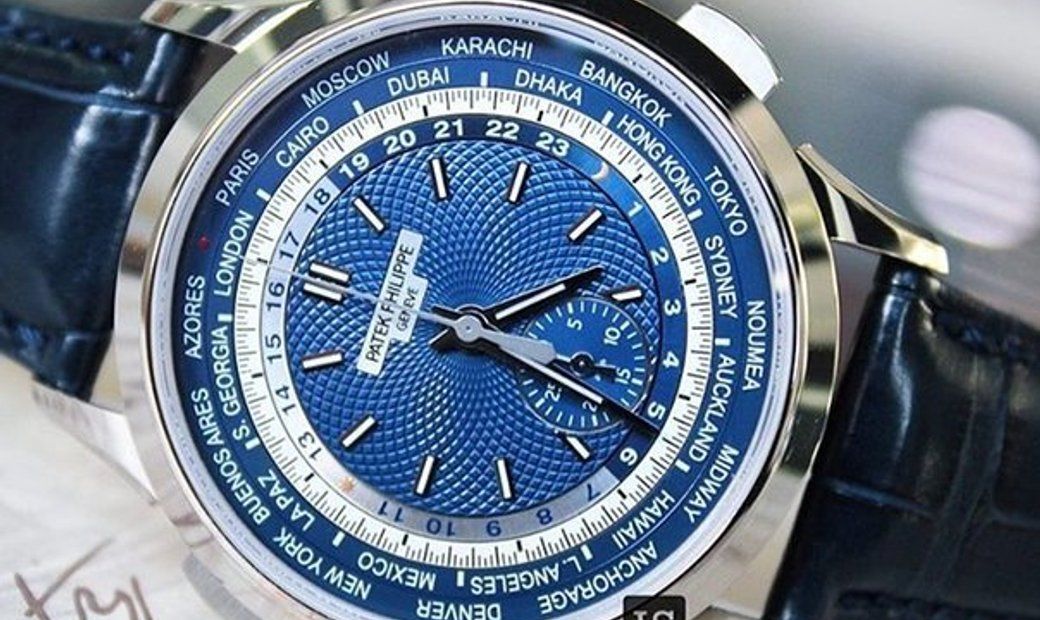 Patek Philippe World Time Chronograph 5930G-001