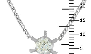 LB Exclusive LB Exclusive Platinum 1.03 ct Diamond Necklace