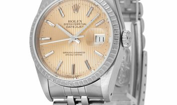 Rolex Datejust 16220, Baton, 1990, Used, Case material Steel, Bracelet material: Steel