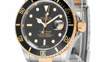 Rolex Submariner 16613, Baton, 2008, Very Good, Case material Steel, Bracelet material: