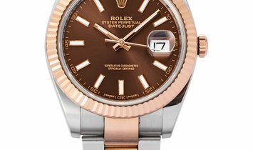 Rolex Datejust 126331, Baton, 2018, Very Good, Case material Steel, Bracelet material: