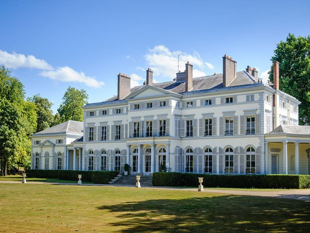 Castle in Rambouillet, Île-de-France, France 1