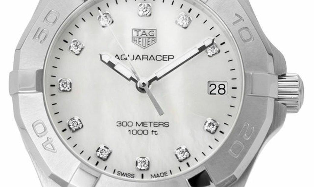 TAG Heuer Aquaracer WBD1314.BA0740, Baton, 2020, Very Good, Case material Steel, Bracel
