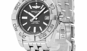 Breitling Galactic 32 A71356L2.BE76.367A, Baton, 2011, Good, Case material Steel, Brace