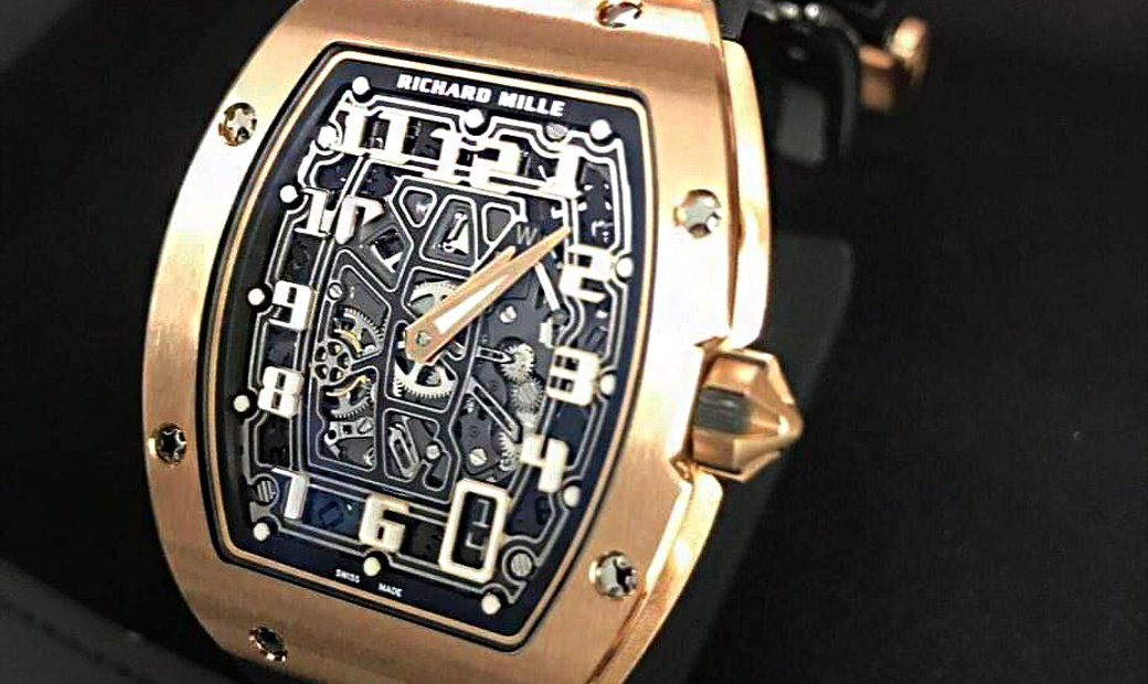 Richard Mille [WATCH ONLY] RM 67-01 Rose Gold Automatic Extra Flat Mens Watch