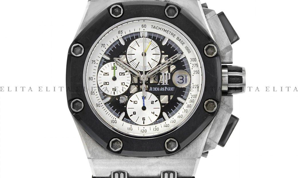 Audemars Piguet Royal Oak Offshore 26078I0.D001VS.01 Rubens Barrichello II Titanium Black Dial