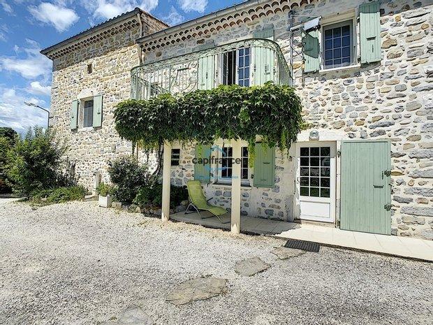 House in Grospierres, Auvergne-Rhône-Alpes, France 1