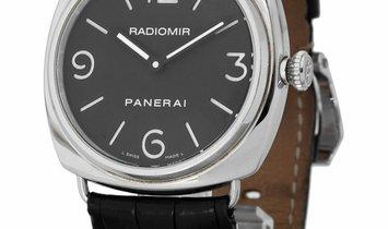 Panerai Radiomir Manual PAM00210, Arabic Numerals, 2005, Very Good, Case material Steel