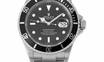 Rolex Submariner 16610, Baton, 2010, Very Good, Case material Steel, Bracelet material: