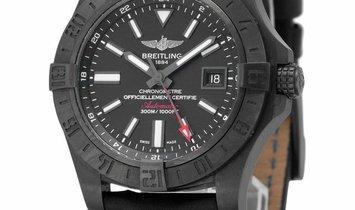 Breitling Avenger II GMT M3239010.BF04, Baton, 2016, Good, Case material Steel, Bracele