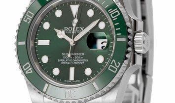 Rolex Submariner 116610LV, Baton, 2014, Very Good, Case material Steel, Bracelet materi