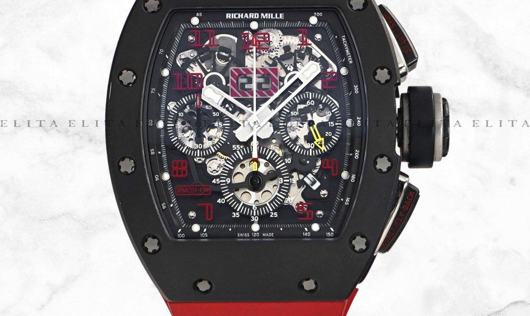 Richard Mille RM 011FM Felipe Massa Carbon and Titanium