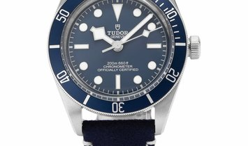 Tudor Black Bay Fifty-Eight 79030B , Baton, 2020, Very Good, Case material Steel, Brace