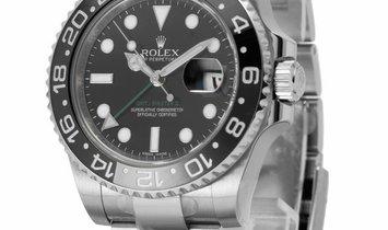 Rolex GMT-Master II 116710LN, Baton, 2012, Very Good, Case material Steel, Bracelet mat