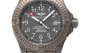 Breitling Avenger Seawolf E17370, Arabic Numerals, 2006, Good, Case material Titanium,