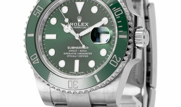 Rolex Submariner 116610LV, Baton, 2017, Very Good, Case material Steel, Bracelet materi
