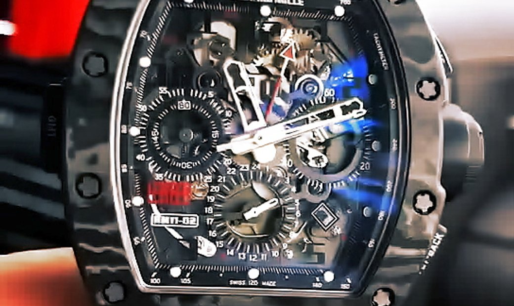 Richard Mille [WATCH ONLY] Debuts Limited-Edition RM 11-02 Jet Black