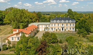 Castle in Tarbes, Occitanie, France 1