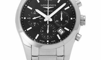 Longines Conquest Classic L2.786.4.56.6, Baton, 2014, Very Good, Case material Steel, B