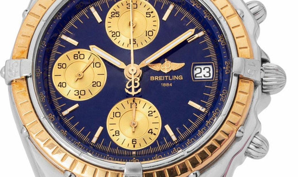 Breitling Chronomat D13050.1, Baton, 2000, Good, Case material Steel, Bracelet material