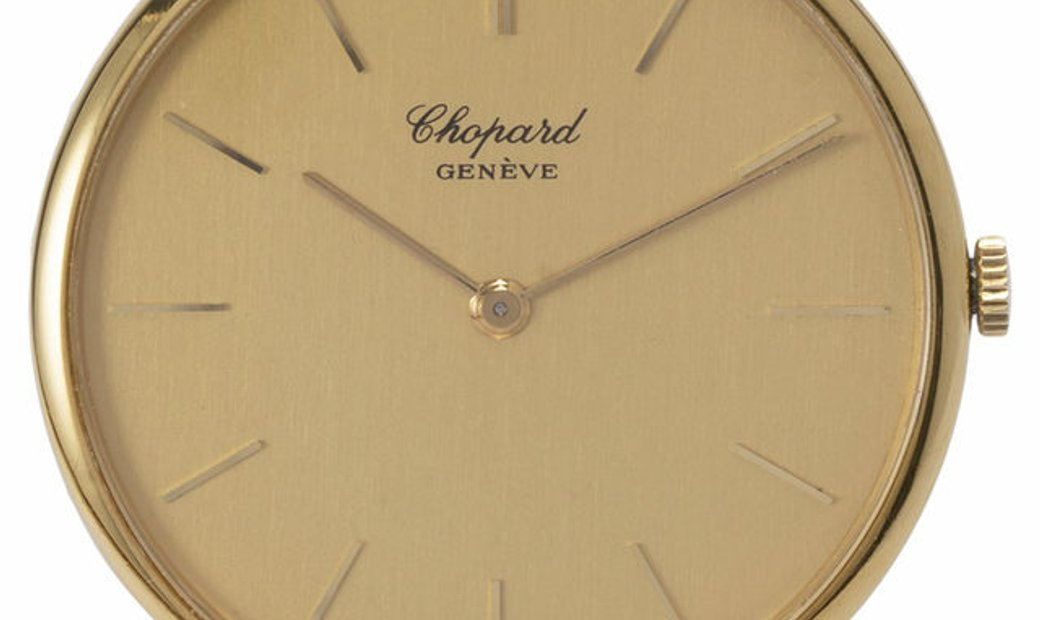 Chopard Geneve 1061, Baton, 1970, Good, Case material Yellow Gold, Bracelet material: Y