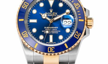 Rolex Submariner 116613LB, Baton, 2019, Very Good, Case material Steel, Bracelet materi
