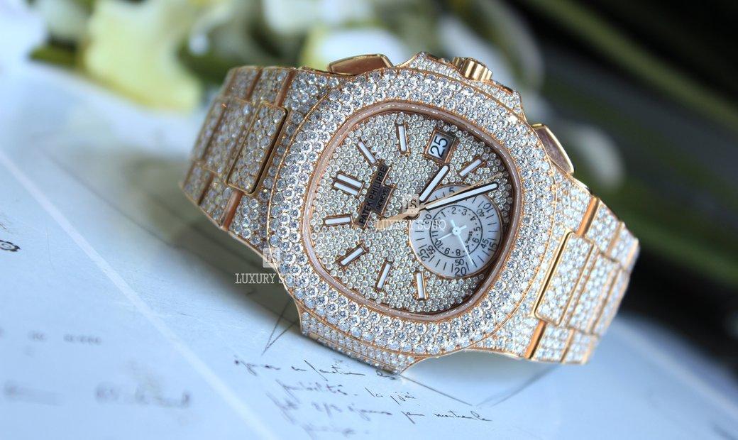 Patek Philippe Nautilus Diamond 5980/1R-001