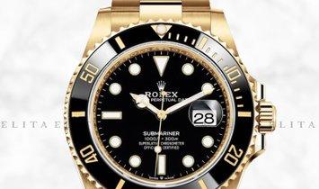 Rolex Submariner Date 126618LN-0002 18K Yellow Gold Black Ceramic Bezel with Black Dial