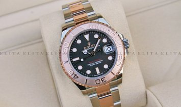 Rolex Yacht Master 37 268621-0004 Oystersteel and Everose Gold with Black Dial