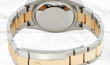 Rolex Datejust 36 126233-0030 Yellow Rolesor White Dial Roman Numerals Oyster Bracelet